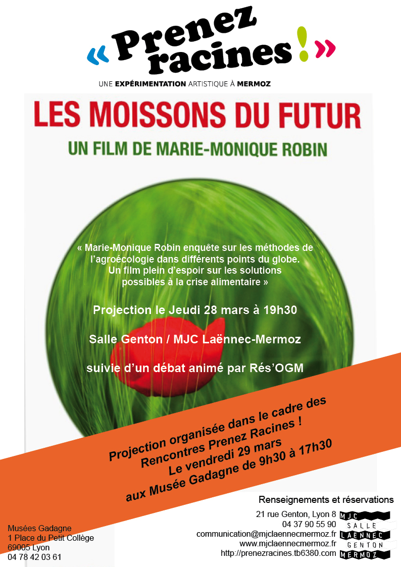 Les Moissons Flyer